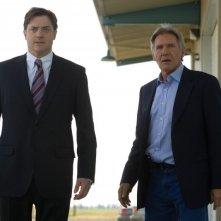 Brendan Fraser e Harrison Ford, protagonisti del film Extraordinary Measures