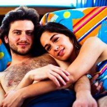 Daniele Savoca e Diane Fleri in una scena della fiction Gli ultimi del Paradiso