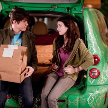 Alex O'Bannon (Carter Jenkins) e Grace Smart (Emma Roberts) in una sequenza del film Valentine's Day