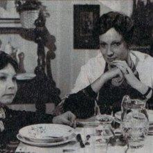 Christian Fassetta a quattro anni sul set di Quasi davvero (episodio Felicità di una madre) accanto a Carla Gravina.
