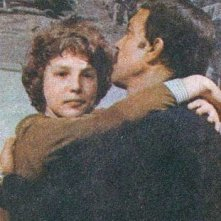 Christian Fassetta in una scena di Un inverno al mare con Orso Maria Guerrini.