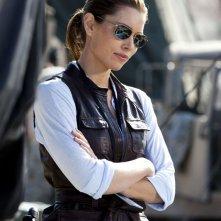 Jessica Biel interpreta il luogotenente Sosa nel film The A-Team