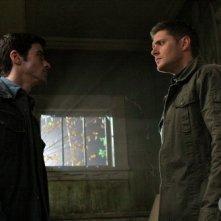 Supernatural: Matt Cohen e Jensen Ackles nell'episodio Back to the Future II