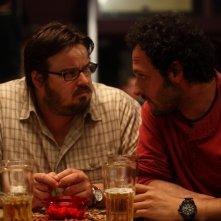 Giuseppe Battiston e Fabio Troiano in una scena del film Cosa voglio di più