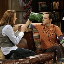 The Big Bang Theory: Jim Parsons e Jen Drohan nell'episodio The Psychic Vortex