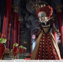 Alice in Wonderland: Helena Bonham Carter interpreta la Regina Rossa