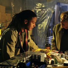 Human Target: Jackie Earle Haley e Brandon Jay McLaren nell'episodio Run