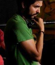 Il regista Alejandro Gomez Monteverde sul set del suo film Bella