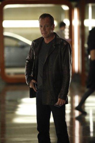 Kiefer Sutherland nella premiere del Day 8 di 24
