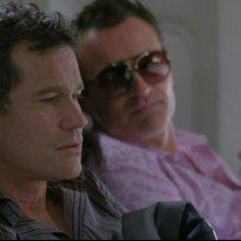 Nip/Tuck: Dylan Walsh e Julian McMahon in una scena dell'episodio Dan Daly