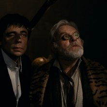 Benicio Del Toro e Anthony Hopkins insieme nel film The Wolf Man