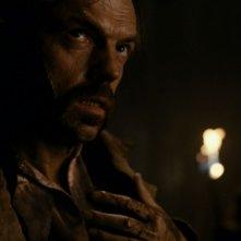 Hugo Weaving in un'immagine del film The Wolf Man