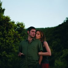 Kristin Scott Thomas e Sergi López, protagonisti del film L'amante inglese