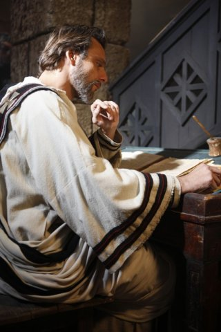 Alessandro Preziosi nella fiction Sant'Agostino