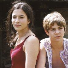 Uros Milovanovic e Marija Petronijevic in una scena del film Promettilo!