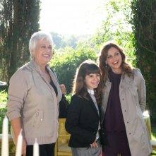 I Cesaroni 4: Elda Alvigini e Rita Savagnone con Angelica Cinquantini sul set della serie televisiva