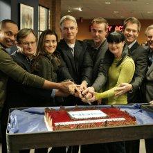 Il cast principale di Navy N.C.I.S. festeggia il 150esimo episodio: 'Flesh and Blood'