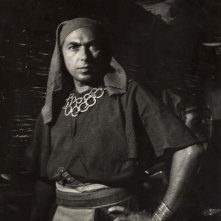 L'attore Vittorio Ripamonti (1916-2001) in un film