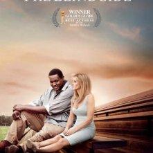 Nuovo poster per The Blind Side, aggiornato dopo la vittoria ai Golden Globes