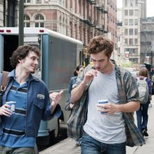 Aidan (Tate Ellington) e Tyler (Robert Pattinson) in Remember Me