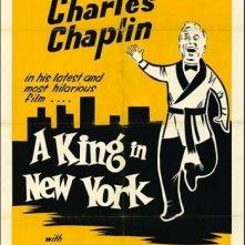 La locandina di Un re a New York