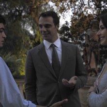 Riccardo Scamarcio, Alessandro Preziosi e Nicole Grimaudo in una scena di Mine vaganti