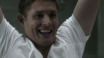 Supernatural: Jensen Ackles in una scena dell'episodio Sam, Interrupted