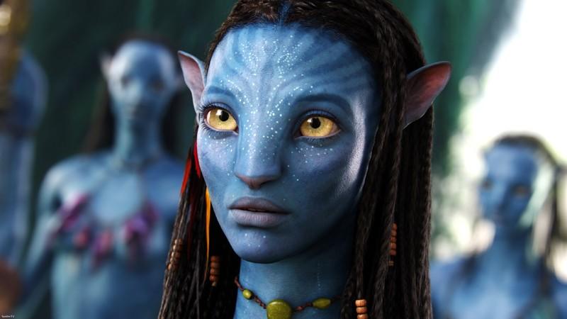 La bellissima Zoe Saldana (32 anni) è Neytiri nel film Avatar