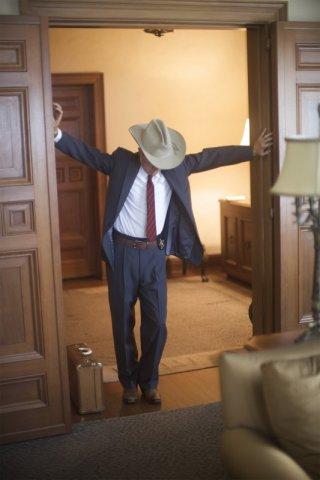 Casey Affleck in una scena del film The Killer Inside Me di Michael Winterbottom