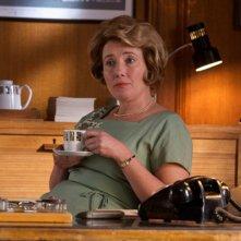 Emma Thompson in una sequenza del film An Education