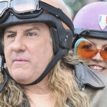 Gérard Depardieu in una scena del film Mammuth