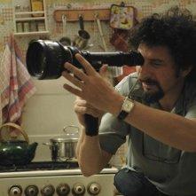 Il regista Radu Mihaileanu sul set del suo film Il concerto