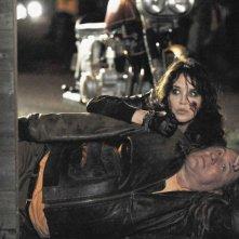 Isabelle Adjani e Gérard Depardieu in una scena del film Mammuth