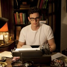 James Franco in una scena del film Howl
