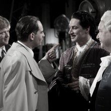 Justus von Dohnany, Tobias Moretti e Moritz Bleibtreu nel film Jud Süß