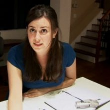 Katie Featherston in una scena del film Paranormal Activity, diretto da Oren Peli