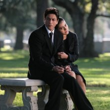 Shahrukh Khan e Kajol in una scena del film My Name Is Khan