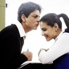 Shahrukh Khan e Kajol nel film My Name Is Khan