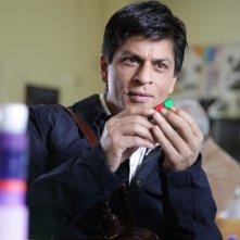 l'attore Shahrukh Khan nel film My Name Is Khan
