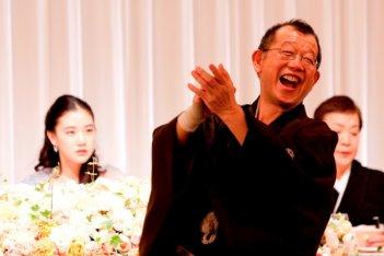 Tsurube Shofukutei nel film Otouto