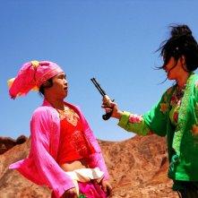 Una foto di scena del film San qiang pai an jing qi di Zhang Yimou