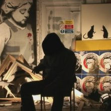 Una scena dal film Exit Through the Gift Shop