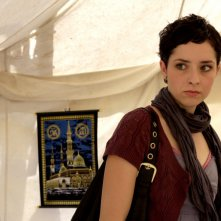 Zrinka Cvitesic in una scena del film On the Path