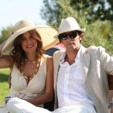 Michelle Carpente e Ignazio Oliva in una scena di Scusa ma ti voglio sposare