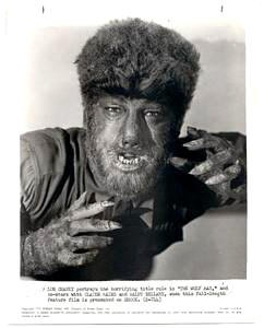 Claude Rains è L'uomo lupo in una immagine promozionale del film del 1941.