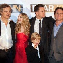Lasse Hallström, Amanda Seyfried, Braeden Reed, Channing Tatum e Marty Bowen alla premiere del film Dear John