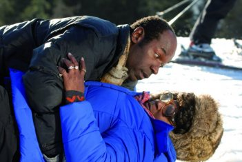 Lucien Jean-Baptiste e Firmine Richard in una scena del film La première étoile
