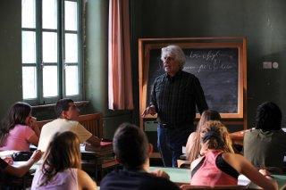 Michele Placido in una scena del film Genitori & figli - Agitare bene prima dell'uso
