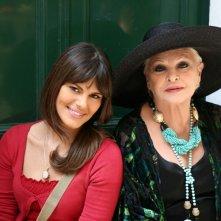 Bianca Guaccero e Lucia Bosè in una scena della fiction Capri 3