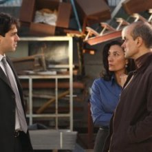 Eva Bianco, Marcelo D'Andrea e Santiago Gobernori in una scena del film The Counting of the Damages
